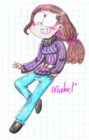 .:Mabel:. by CosmicPonye