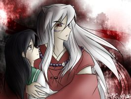 Inuyasha - With the demon by Etrilya