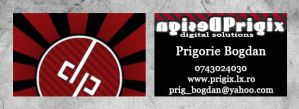 business card by prigix