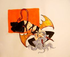 10. day: Succubus by chaosqueen122