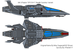 MKII Raptor 'SPOOKY' Stealth by XRaiderV1