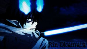 Rin Okumura Wallpaper by xxbrokendollzxxx