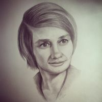 portrait of my grandmother by anastasiasereda1998