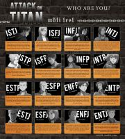 16 Human Personality Type SnK ver. by Sayane-chan