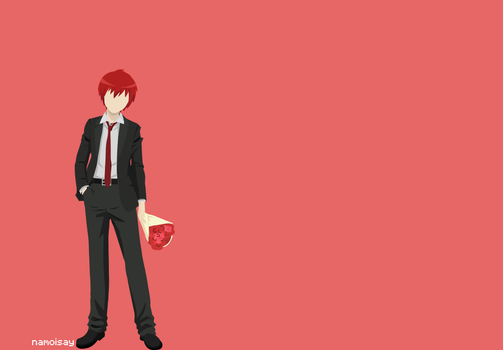 Minimalist Classroom Wallpaper ~ Assassination classroom on minimalistic animoo deviantart