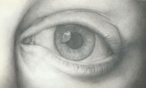 Pencil Drawing: Eye #2 by XXPencilXStrokesXX