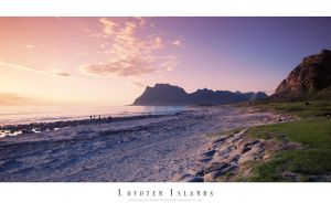Utakleiv - Lofoten Islands by Stridsberg