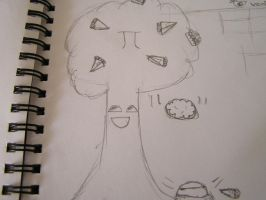 Pie Tree by VenDuckie