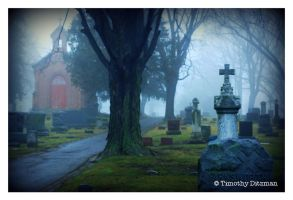 Perfect Morning In The Old Cemetery by tditzgb