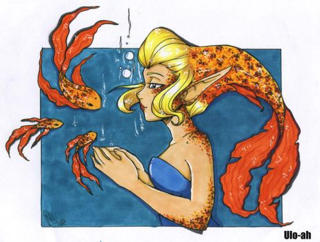 Fish Talk :colored: by ulo-ah