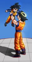 DBZ Collab: 'I'm proud of you, son' by carapau