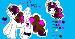 MLP Cee Ref and Quick Bio by CeeNova