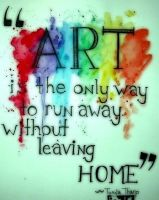 Art is the only way... by Keeree
