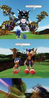 If Sonic Generations was more Sci-Fi 2 by MeltingMan234