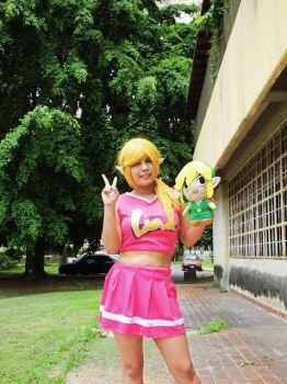 TriForce Heroes: Link Cheer outfit by siul-universe