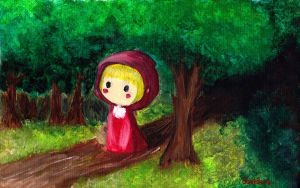 Little Red Riding Hood Forest by Porn-2-Be-A-Life