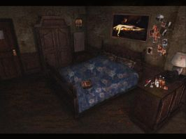 silent hill room by angelthanatos