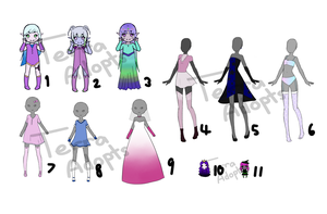 (cheap) Adopt Clearance Sale! 4/11 OPEN by terra-adopts