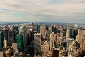 View from Empire State by Hurricane007