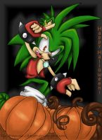 Happy Halloween :: Manic by The-Magical-Chocobo