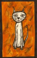 cat for a friend by AllieHartley