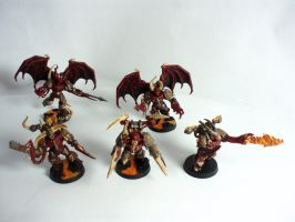 Possessed Chaos Space Marines by Scipio164