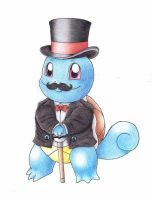 Fancy Squirtle by Various-Aliter