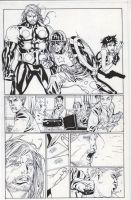 Ultimates 14 pg 14 inks by JosephLSilver