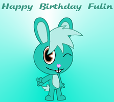 Happy B-Day Fulin by samart0098