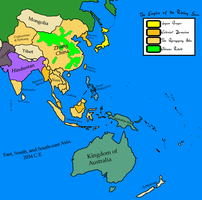 East Asia (Texan Universe) by Goliath-Maps