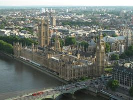 Westminster Palace and Abbey by Smaragd01