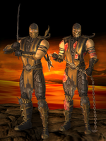 Scorpion Primary - Mortal Kombat 9 by romero1718