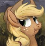 Square Series - Discorded Applejack by sophiecabra