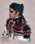Assassins Creed Rogue  - Shay Doodle by operaghost