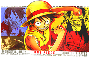 Luffy Signature by 0StarLights0
