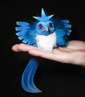 Baby Articuno IV - handmade Doll