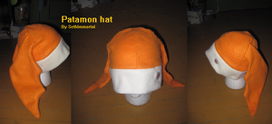 Patamon Hat by SethImmortal