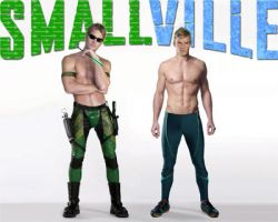 Smallville art 2006 - 2012 by cdpetee