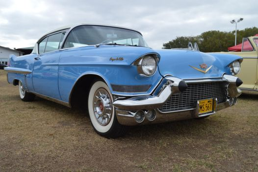 1957 Cadillac Coupe DeVille IX by Brooklyn47