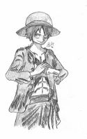 One Piece - Luffy by MadMota