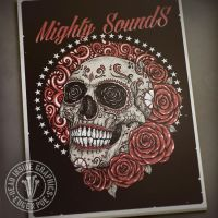 Mighty Sugar Skull by DeadInsideGraphics