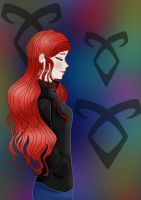 Clary Fray The Mortal Instruments by Thabatha1