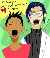 Oh Sweet England How We Love You by WonderTroll