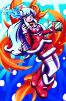 Sorceress of Christmas Present by Inika-Xeathis