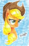 Watercolour Applejack by My-Magic-Dream
