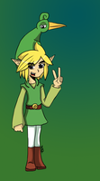 Link and the Minish Cap by Midna-hime