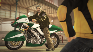 Dead Rising 2 Sully the motorcycle riding psycho by SOLIDCAL