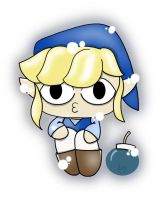 Blue Toon Link by Lucora