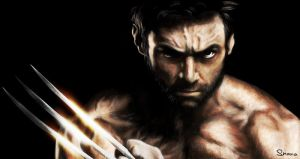 Hugh Jackman as Wolverine by ShanaGourmet