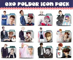 Icon pack EXO by sirius-12